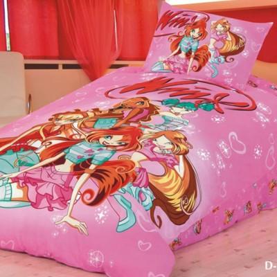Детское постельное белье Stile Tex D-17 (размер 1,5-спальный)