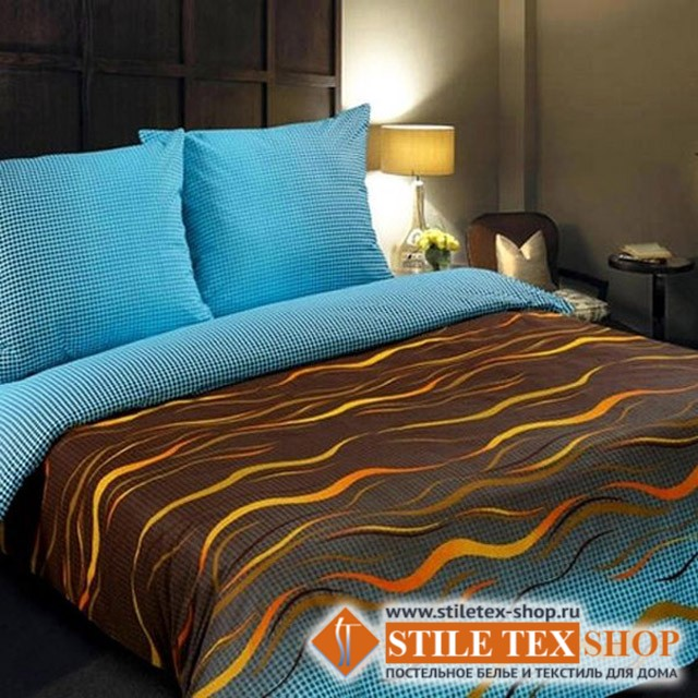 Постельное белье Stile Tex Волна (1,5-спальный размер)