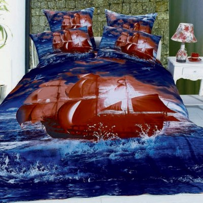 Постельное белье Stile Tex 3D Алые Паруса (размер 2-спальный)