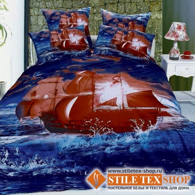 Постельное белье Stile Tex 3D Алые Паруса (2-спальный размер)