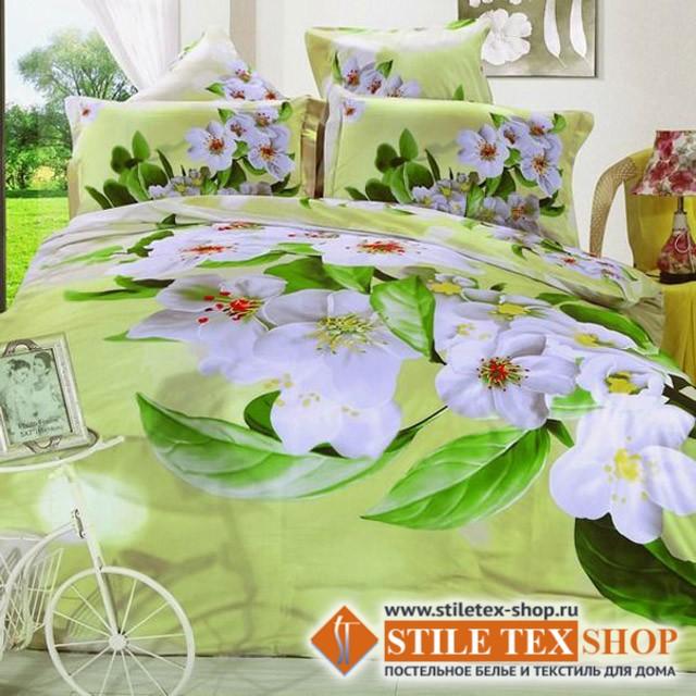 Постельное белье Stile Tex 3D Яблоневый цвет (размер евро плюс)