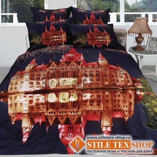 Постельное белье Stile Tex 3D Замок (размер евро)