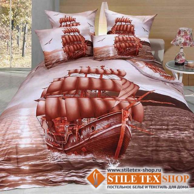 Постельное белье Stile Tex 3D Фрегат (размер евро плюс)