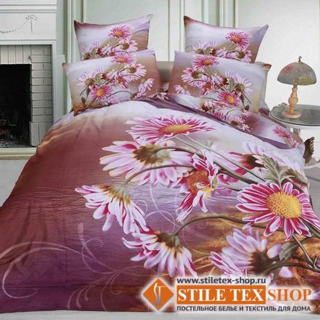 Постельное белье Stile Tex 3D Хризантема (2-спальный размер)
