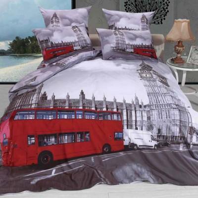Постельное белье Stile Tex 3D Лондон (размер 2-спальный)