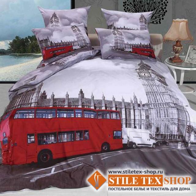 Постельное белье Stile Tex 3D Лондон (2-спальный размер)