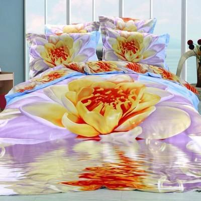 Постельное белье Stile Tex 3D Лотос (размер 2-спальный)