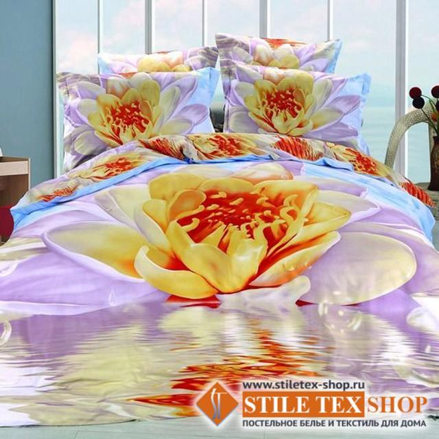 Постельное белье Stile Tex 3D Лотос (размер евро плюс)