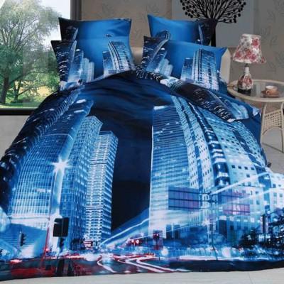 Постельное белье Stile Tex 3D Мегаполис (размер Евро)