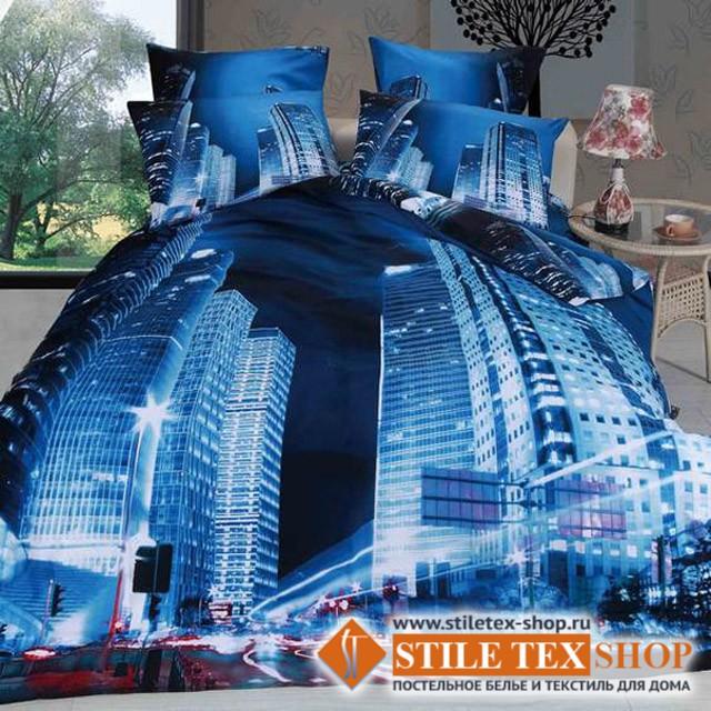 Постельное белье Stile Tex 3D Мегаполис (размер евро плюс)