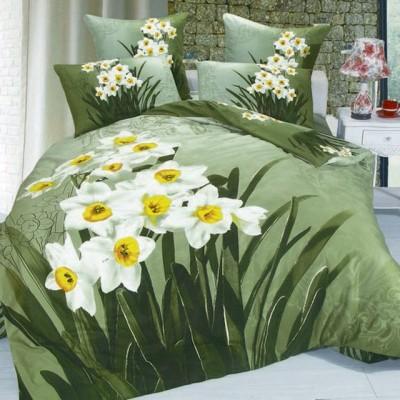 Постельное белье Stile Tex 3D Нарциссы (размер 2-спальный)