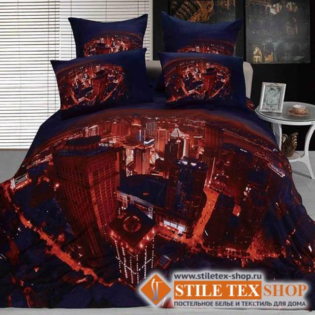 Постельное белье Stile Tex 3D Ночь (размер евро)