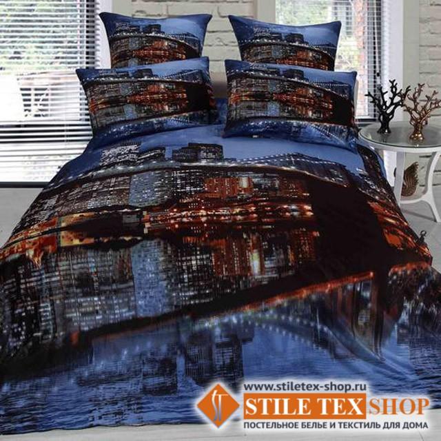 Постельное белье Stile Tex 3D Отражение (размер евро плюс)