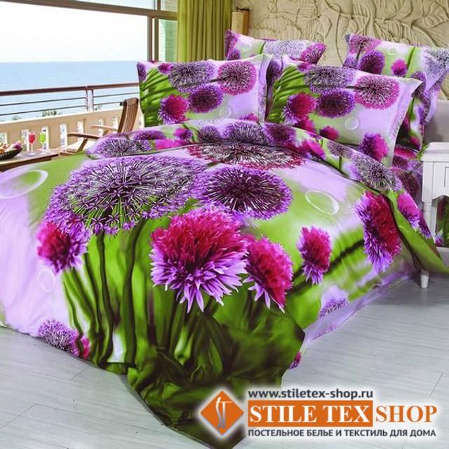 Постельное белье Stile Tex 3D Цветущая поляна (размер евро)