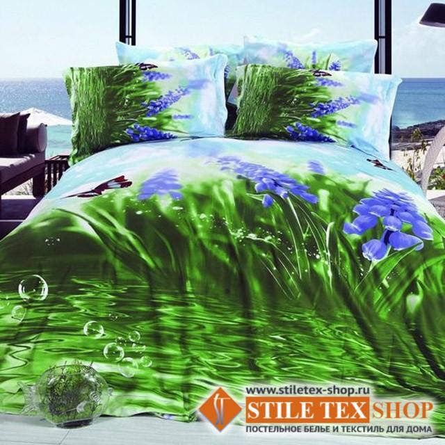 Постельное белье Stile Tex 3D Свежесть росы (размер евро)