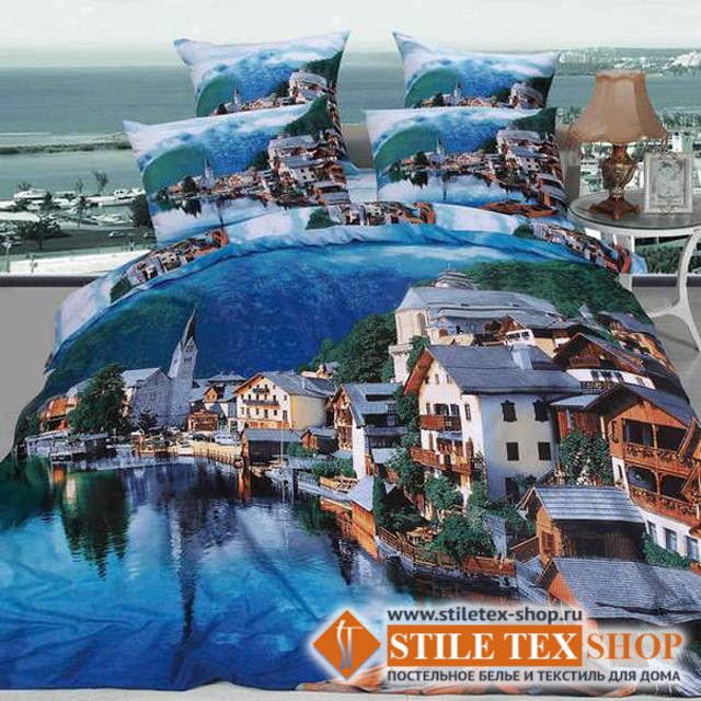 Постельное белье Stile Tex 3D Путешествие (2-спальный размер)