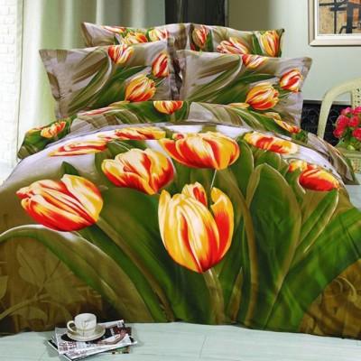 Постельное белье Stile Tex 3D Тюльпановый рай (размер 2-спальный)