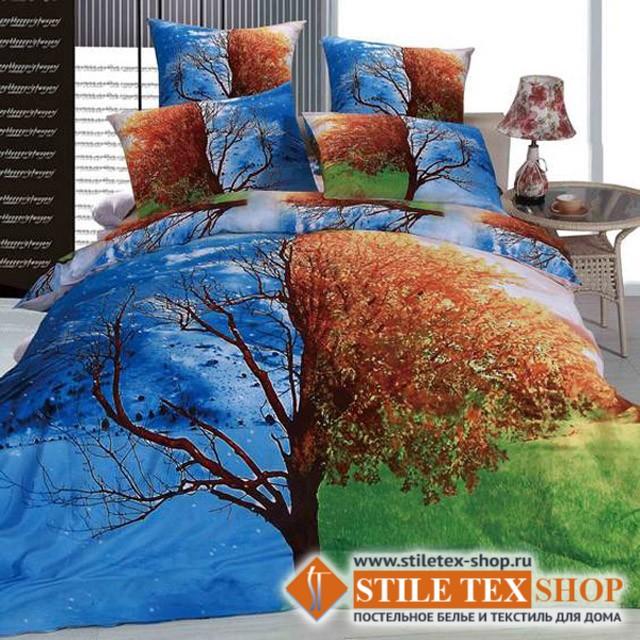 Постельное белье Stile Tex 3D Времена года (2-спальный размер)